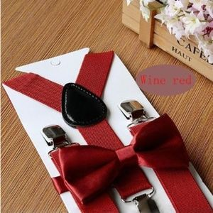Other - Boutique toddler boy suspenders and bow tie 1-5